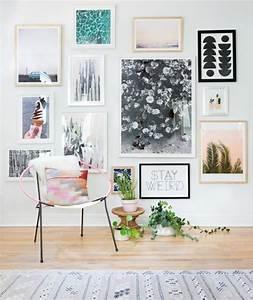 Bilder An Der Wand : 50 fotowand ideen die ganz leicht nachzumachen sind ~ Lizthompson.info Haus und Dekorationen