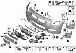 51118067951 - Panel  Bumper  Primed  Front  M Us
