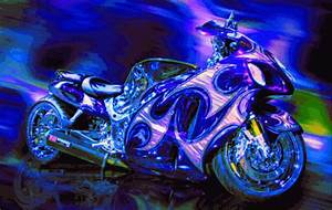 Image Gallery Neon Motorcycle