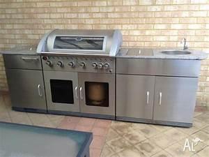 Bbq  U0026quot Matador Entertainer 6 Burner Outdoor Kitchen U0026quot  Rrp