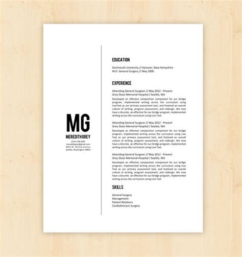 resume format docx file resume template cover letter template w reference page meredith grey resume design instant