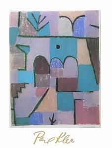 paul klee garten im orient poster kunstdruck bei With französischer balkon mit paul klee garten