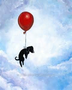 Balloon Animals Dog Black