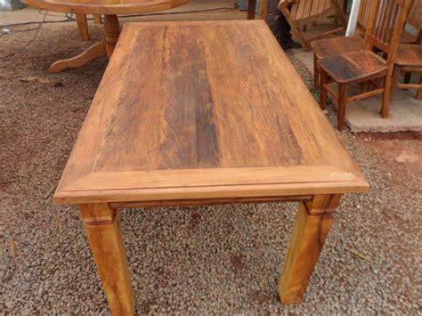 mesa de jantar madeira rustica   em mercado livre