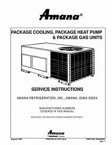 Package Unit Service Manual