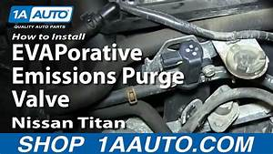 How To Install Replace Evaporative Emissions Purge Valve