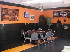 help me pick a mancave paint scheme harley davidson With kitchen cabinets lowes with harley davidson wall art