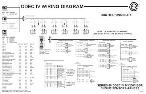 Ddec Egr Engine Harness