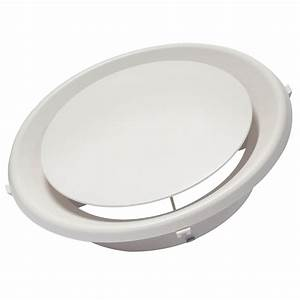 Round ceiling vent covers white modern design