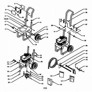 Sears  U0026 Craftsman Pressure Washer Model 580761800