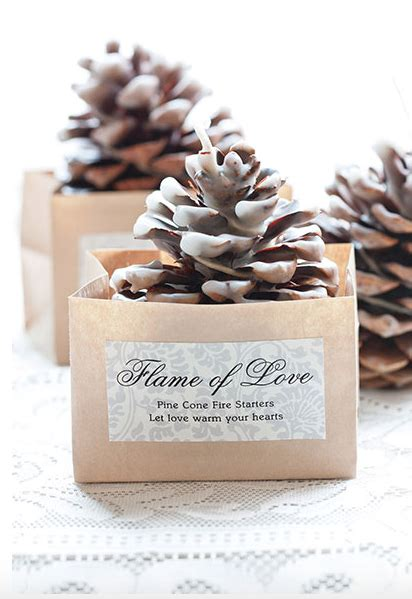 10 winter wedding favor ideas rustic wedding favors