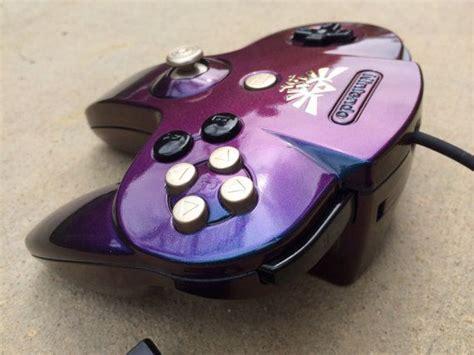 Custom Original N64 Nintendo 64 Controller Metallic Purple