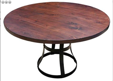 douglas fir dining table round reclaimed douglas fir custom dining table by