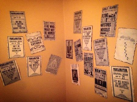 harry potter party ideas paper trail design
