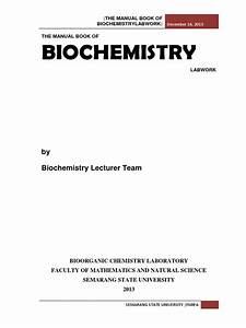 The Manual Book Of Biochemistry Experiment