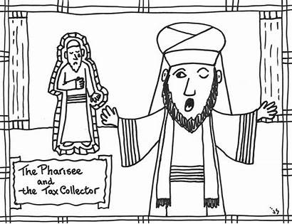 Tax Pharisee Collector Coloring Pages Flickr Printable