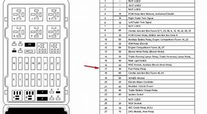 Fuse Panel Diagram 2002 F 250 Super Duty 5 4