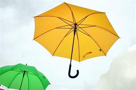 picture umbrella sky rain colorful