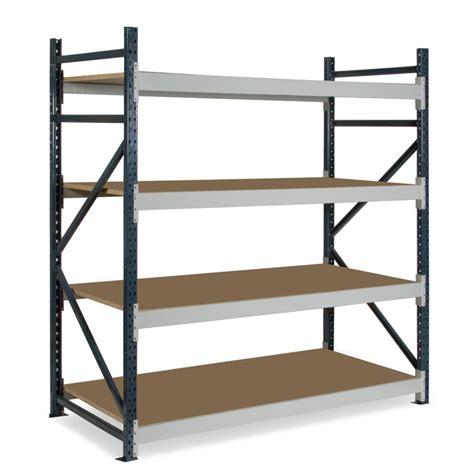Garage Longspan Shelving by Dexion Longspan Shelving 600mm 4 Chipboard Shelves