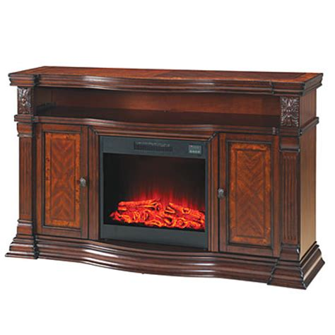 big lots electric fireplace view 60 quot cherry media electric fireplace deals at big lots