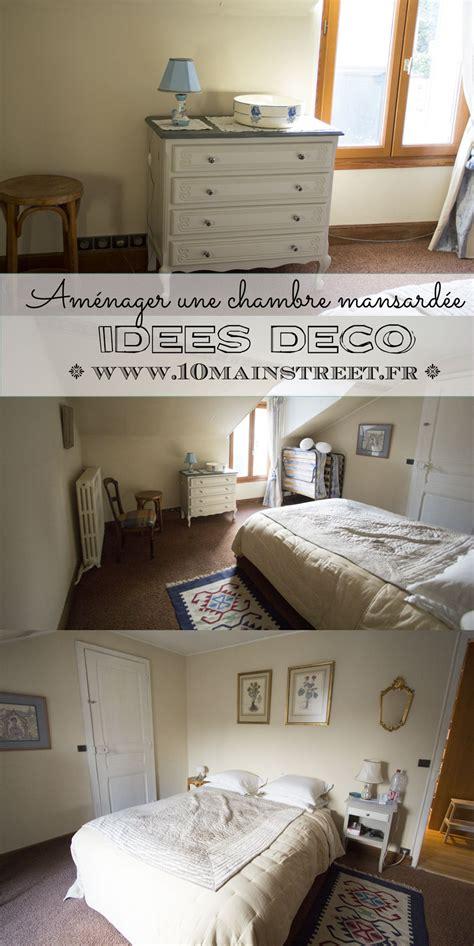 idee deco chambre mansard馥 aménager une chambre mansardée idées déco et rangement
