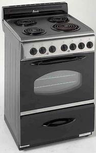 Avanti Er2402css 24 Inch Freestanding Electric Range With