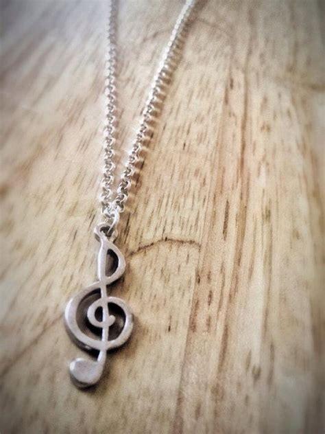 Exo Next Door Inspired Treble Clef Charm Necklace I