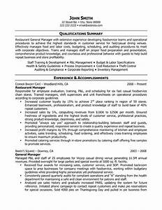 Job Application Spreadsheet 14 Sample Restaurant Manager Resume Samplebusinessresume