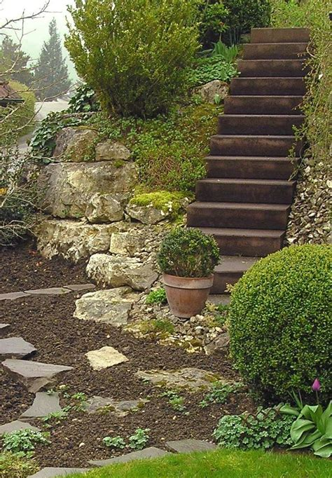 Treppen Im Garten Hanglage by Treppen Im Garten Hanglage Luxus Garten Am Hang