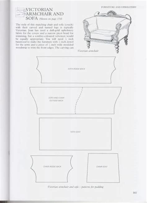 chair template doll furniture barbie furniture