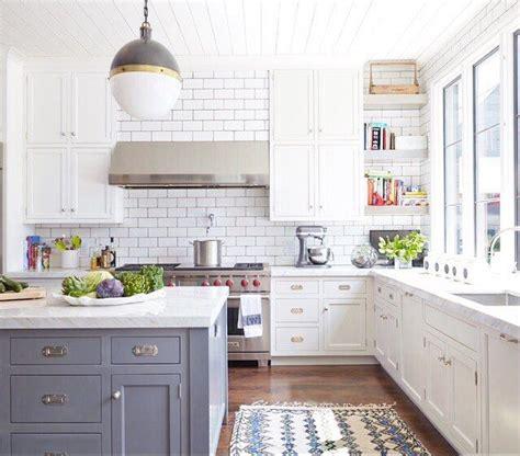 blue subway tile kitchen 17 best ideas about blue grey kitchens on blue 4841