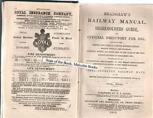 Bradshaw U0026 39 S Railway Manual  Shareholder U0026 39 S Guide And