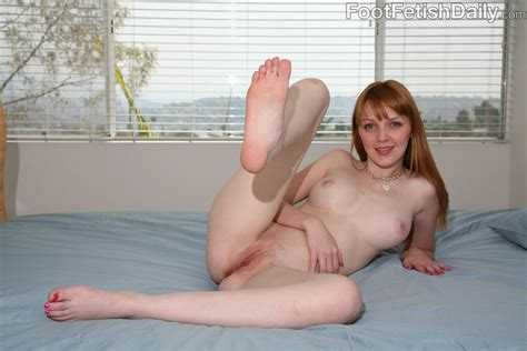 Marie Mccray Uses Her Feet On Her Friends Dick 1 Of 1