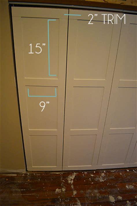 board and batten on closet doorslemon grove lemon