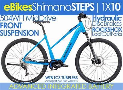 Electric Elite Shimano Motobecane Mountain Bikes Hydraulic