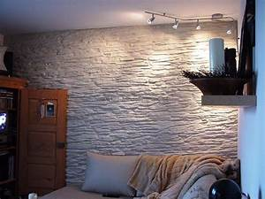 Wandgestaltung Im Wohnzimmer : mediterrane wandgestaltung im wohnzimmer mit der kunststeinpaneele ~ Sanjose-hotels-ca.com Haus und Dekorationen