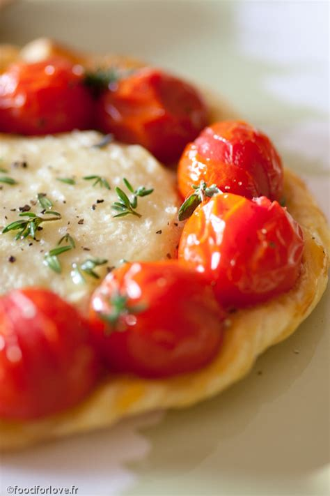 cuisine cerise tartelettes au rocamadour et tomates cerise blogs de cuisine