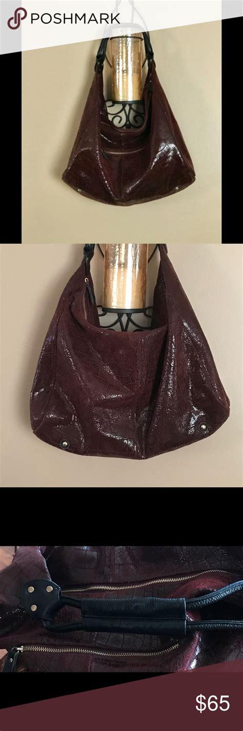 lola bernard large leather bag   besutiful gorgeous color  large bag  heavy