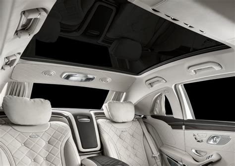 811 burmester 3d high end sound system. New features in the Mercedes-Maybach Pullman: New face ...