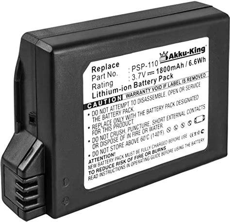 akku king li ion batterie pour sony playstation portable