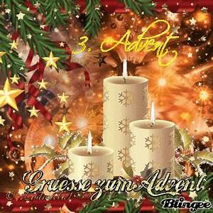 Happy 1 Advent : happy 3 advent for all my friends picture 131397528 ~ Haus.voiturepedia.club Haus und Dekorationen