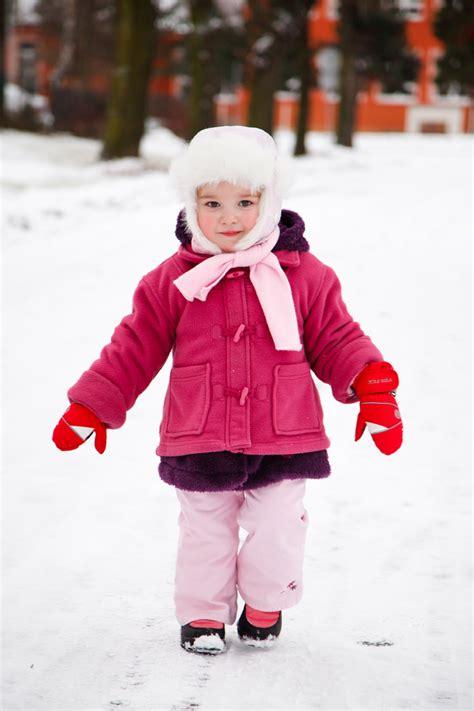 Little Girl In Winter Free Stock Photo  Public Domain