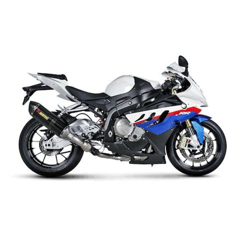 bmw s1000rr akrapovic akrapovic homologated racing exhaust system bmw s1000rr
