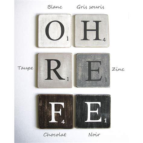 lettres en bois d 233 co gris 15 carr 233