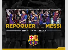 Download the wallpaper of Messi's fivegoal performance
