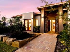 Stunning House Facade Styles Ideas by Concrete Modern House Exterior With Doors