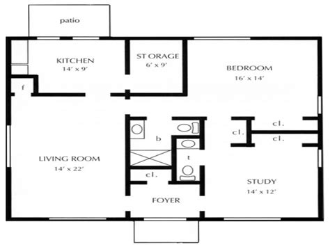 1 open floor plans one bedroom open floor plans 1 bedroom cottage floor plans
