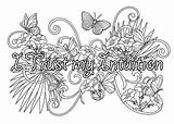 Affirmations sketch template