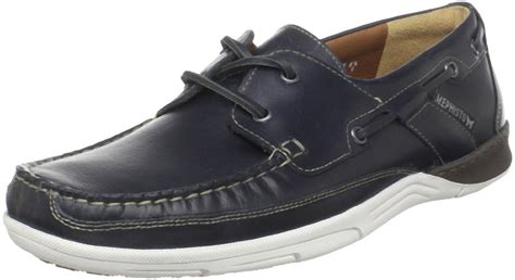 Mephisto Boat Shoes by Mephisto Mens Felix Boat Shoe In Blue For Navy Blue