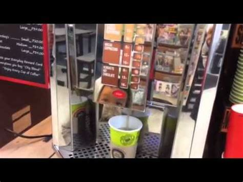 Types of vending machine franchises. 7-Eleven City Blends Coffee - YouTube